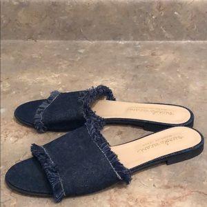 Niccolo Vacari Denim Sandals